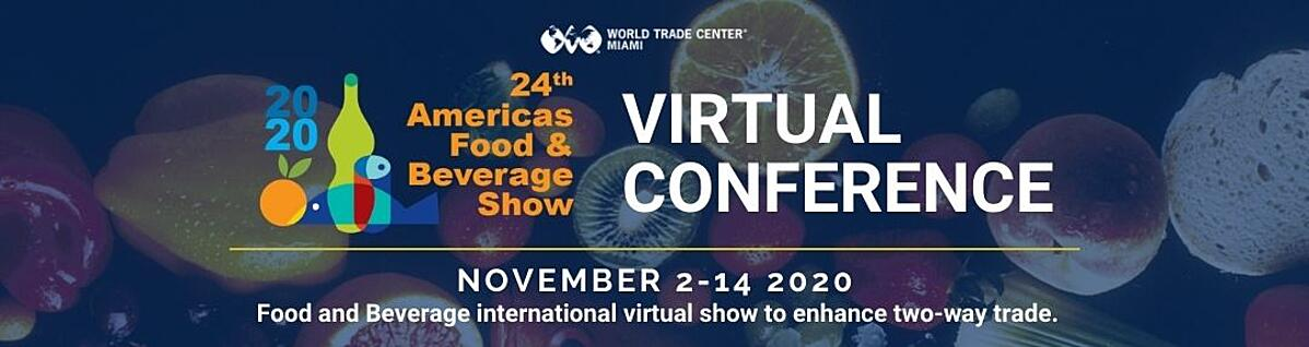Americas Food and Beverage Show VIRTUAL CONFERENCE App Banner 400x200-3