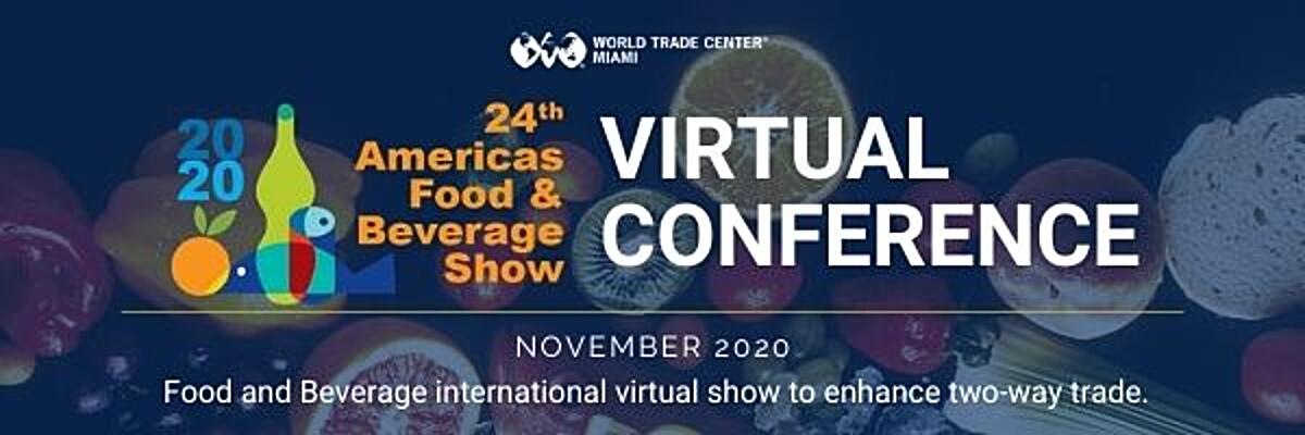 Americas Food and Beverage Show VIRTUAL CONFERENCE App Banner 400x200
